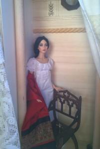 Miss Austen alone